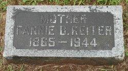 Fannie Burtner <I>Howe</I> Keiter