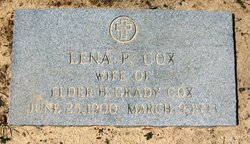 Lena Bell <I>Prince</I> Cox