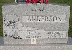 Gloria K <I>Beaver</I> Anderson