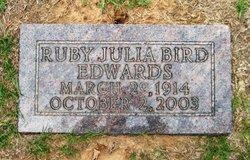 Ruby Julia <I>Bird</I> Edwards