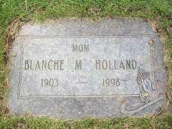 Blanche M Holland