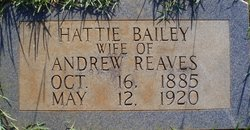 Hattie <I>Bailey</I> Reaves
