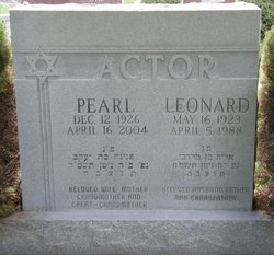 Pearl Actor