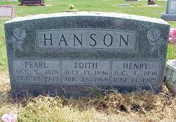 Henry Peter Hanson