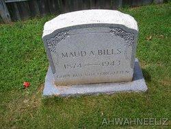 Maud A Bills
