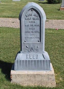 Mary Ann <I>Kent</I> Reed