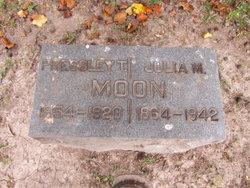 Julia M <I>Bequette</I> Moon
