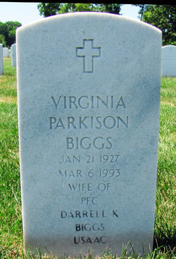 Virginia Parkison Biggs