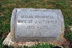 Keziah B. <I>Brownell</I> Towner