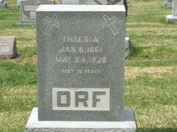 Thresia <I>Hoff</I> Orf