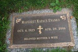Margaret <I>Kapacs</I> Evanko