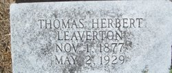 Thomas Herbert Leaverton
