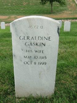 Geraldine <I>Adams</I> Gaskin