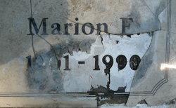 """Marion Elizabeth """"Mary"""" <I>Dean</I> Markle"""