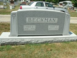 Frederick Burdette Beckman