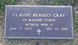 Charles Beaulo Gray (1922-1987) - Find A Grave Memorial