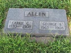 Carrie C. <I>Campbell</I> Allen
