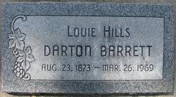 "Louisa ""Louie"" <I>Hills</I> Barrett"