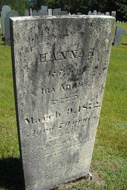 Hannah <I>Robinson</I> Adams