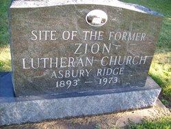 Asbury Zion Lutheran Church Cemetery