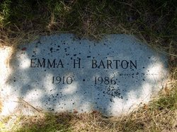 """Emily Leona """"Emma"""" <I>Hendricks</I> Barton"""