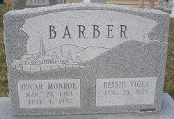 Oscar Monroe Barber