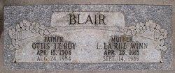 """Elma LaRue """"LaRue"""" <I>Winn</I> Blair"""