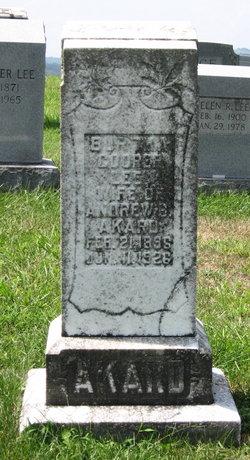 Bertha Cooper <I>Lee</I> Akard