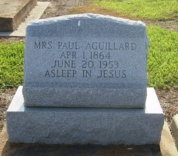 Mrs Paul Aguillard