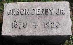 Orson P Derby, Jr
