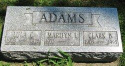 Clark Buster Adams