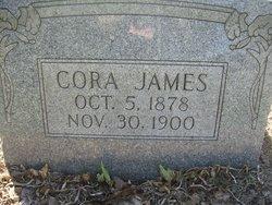 Cora A. <I>Lanham</I> James