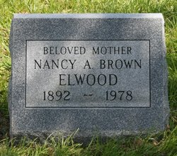 Nancy Ann <I>Burgess</I> Brown Elwood