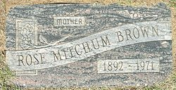 Rose Erwin <I>Mitchum</I> Brown