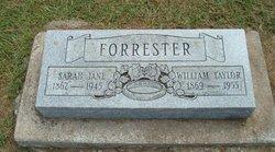 Sarah Jane <I>Fiscus</I> Forrester