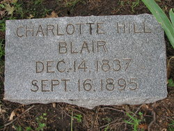 Charlotte <I>Hill</I> Blair