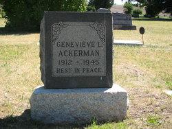 Genevieve Lucille <I>Parker</I> Ackerman