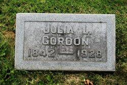 Julia Louisa <I>Dumont</I> Gordon