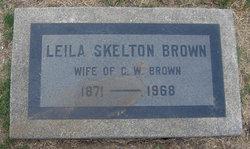 Leila <I>Skelton</I> Brown