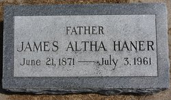 James Altha Haner