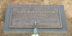 John Marion Oliver