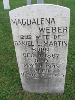 Magdalena <I>Weber</I> Martin
