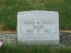 Goldie M <I>Sheets</I> Baker