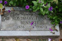 Rosemary <I>Funk</I> Bennett