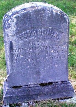 Sophronia <I>Shattuck</I> Atherton