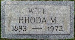 Rhoda M. <I>Brooks</I> Bevans