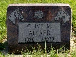 Olive Marie <I>Reddington</I> Allred
