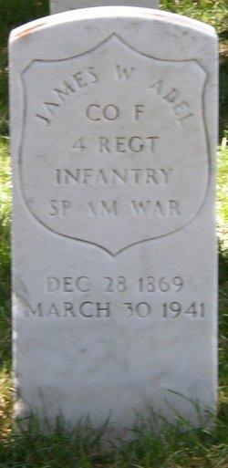 Pvt James Waldon Abel