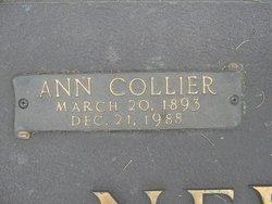 Ann J. <I>Collier</I> Newman