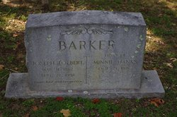 Minnie <I>Hanks</I> Barker